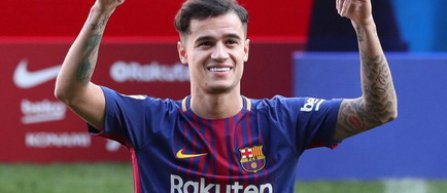 Philippe Coutinho a semnat oficial cu FC Barcelona