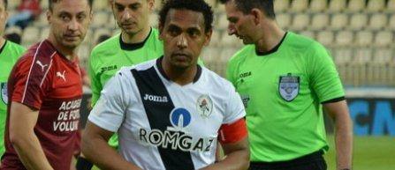 Eric de Oliveira spune că a fost ţinta manifestărilor rasiste ale publicului la meciul de la Iaşi