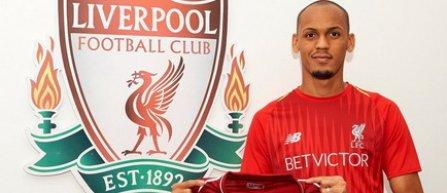 FC Liverpool l-a achiziţionat pe Fabinho de la AS Monaco pentru 50 de milioane de euro