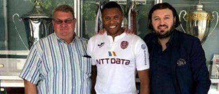 Julio Baptista, fost mijlocaş al lui Real Madrid, Arsenal şi AS Roma, a semnat cu CFR Cluj