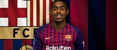 FC Barcelona l-a achiziţionat pe Malcolm de la Girondins Bordeaux, pentru 41 de milioane de euro