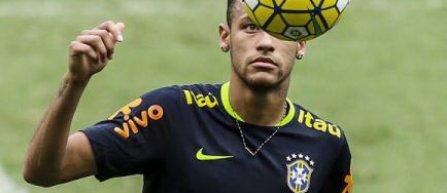 Neymar, numit căpitan permanent al naţionalei Braziliei
