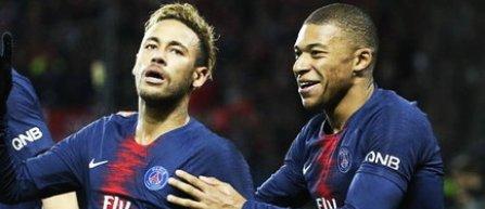 Neymar şi Mbappe vor fi titulari la PSG în meciul cu Liverpool