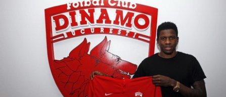Dinamo l-a transferat pe camerunezul Patrick Ekeng