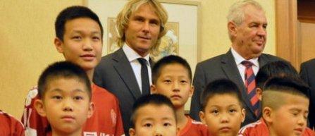 Pavel Nedved, noul ambasador al fotbalului chinez