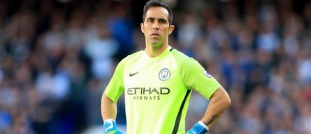Manchester City l-a pierdut pe portarul chilian Claudio Bravo, accidentat
