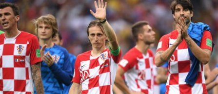 Luka Modrić, cel mai bun jucător al Cupei Mondiale