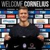 Atalanta Bergamo l-a achiziţionat pe internaţionalul danez Andreas Cornelius