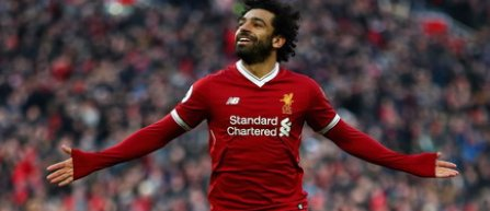Mohamed Salah a egalat recordul de goluri marcate într-o singură ediţie din Premier League