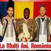 "Fotbalistii straini ai echipei Dinamo au urat ""La Multi Ani"" romanilor imbracati in costume populare"