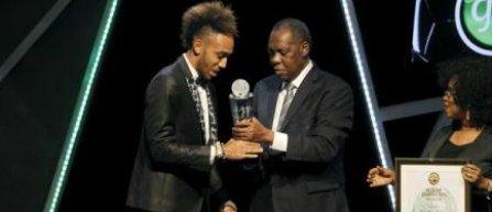 Gabonezul Aubameyang, desemnat Jucatorul anului 2015 in Africa