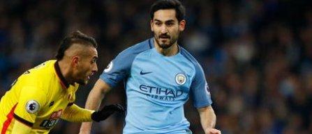 Ilkay Gundogan s-a accidentat in partida Manchester City - Watford si risca sa absenteze cateva luni