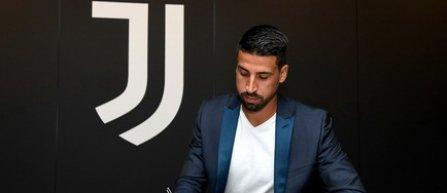 Sami Khedira şi-a prelungit contractul cu Juventus Torino