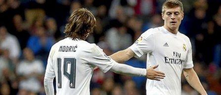 Toni Kroos, Luka Modrici şi Marcelo, în lotul echipei Real Madrid pentru returul cu PSG