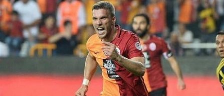Lukas Podolski a anuntat ca la finalul sezonului va pleca de la Galatasaray la Vissel Kobe