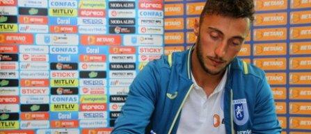 CS Universitatea Craiova a transferat un portar italian, Mirko Pigliacelli