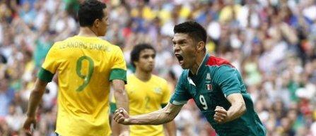 JO 2012: Mexicul a invins Brazilia cu 2-1 in finala turneului masculin de fotbal