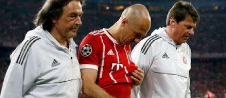 Arjen Robben nu este în lotul lui Bayern pentru returul împotriva lui Real Madrid