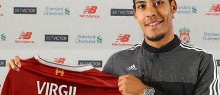 Virgil van Dijk, achiziţionat de Liverpool, devine cel mai scump fundaş din lume