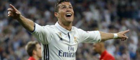 Cristiano Ronaldo, primul jucător cu peste 100 de goluri marcate în Liga Campionilor