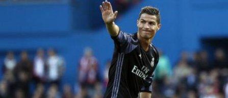 Cristiano Ronaldo este sportivul cel mai celebru din lume, conform ESPN