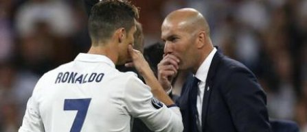Zinédine Zidane și Cristiano Ronaldo, antrenorul și jucătorul lunii mai în campionatul Spaniei