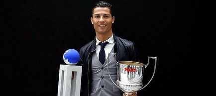 Inca o recompensa pentru Cristiano Ronaldo: Trofeul Pichichi