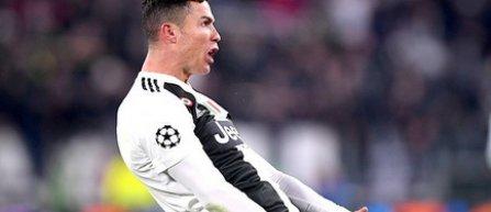 Cristiano Ronaldo nu va fi suspendat după gestul său din partida cu Atletico Madrid