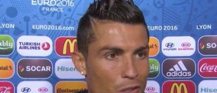 Cristiano Ronaldo: Franta este favorita finalei, dar Portugalia va castiga trofeul