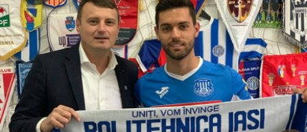 Filipe Nascimento, împrumutat de Levski Sofia la CSM Politehnica Iaşi