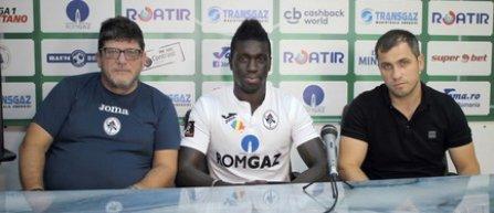 Yazalde Gomes Pinto, fost component al Astrei, a semnat cu Gaz Metan Mediaş