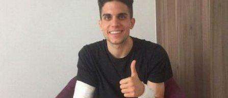 Marc Bartra, indisponibil 4 săptămâni după rănile suferite în atacul cu bombă