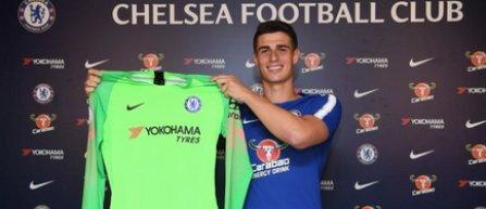 Kepa a semnat pe şapte ani cu Chelsea, devenind cel mai scump portar din lume