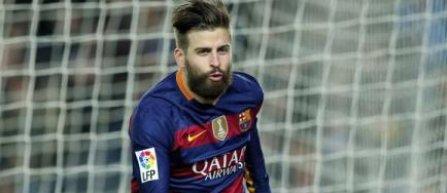 Gerard Pique şi-a prelungit contractul până în 2022 cu FC Barcelona