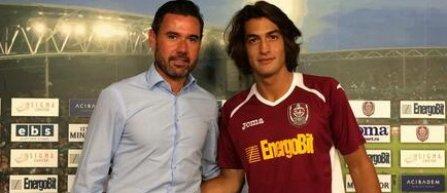 CFR Cluj l-a achizitionat pe spaniolul Daniel Provencio Azcune