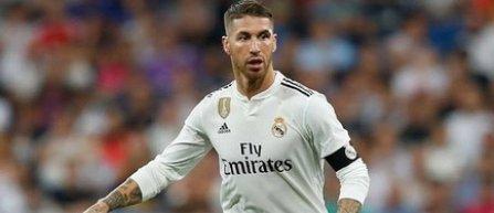Sergio Ramos, suspendat două meciuri în Liga Campionilor