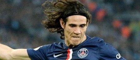 Edinson Cavani, cel mai bun jucător al sezonului în campionatul Franţei