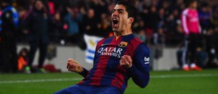 Luis Suárez va lipsi două săptămâni, din cauza unui tratament la genunchi