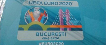 Logo-ul Capitalei pentru Euro 2020 a fost lansat: Podul Basarab, element de legatura intre orasele-gazda