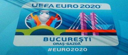 Logo-ul orasului gazda Bucuresti, pentru turneul final al Euro 2020, a fost lansat la Arena Nationala