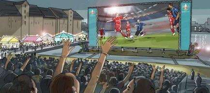 UEFA a prezentat primăriilor din România conceptul de organizare a spaţiilor de vizionare a meciurilor de la EURO 2020