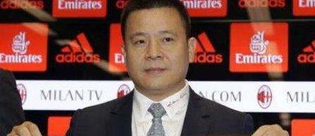 """Li Yonghong, noul președinte al clubului AC Milan, începe o nouă eră la """"rossoneri"""""""
