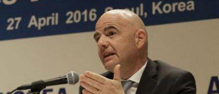 Gianni Infantino incearca sa cucereasca sponsorii asiatici cu o nou viziune a FIFA