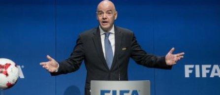 "Gianni Infantino vrea ""9 sau 10"" echipe din Africa la Cupa Mondiala"