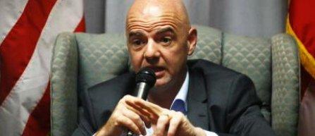 Președintele FIFA, Gianni Infantino, se declară încrezător pentru CM 2022 din Qatar