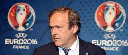 Michel Platini nu va asista la finala Franta - Portugalia