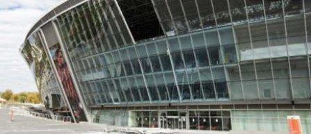 Stadionul echipei Sahtior Donetk, avariat serios in urma unei explozii