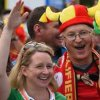 Federatia belgiana, amendata de UEFA dupa meciul cu Irlanda