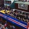 VIDEO | Jucatorii islandezi, sarbatoriti ca niste eroi la revenirea la Reykjavik