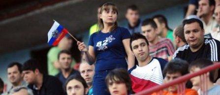 Fanii cu rucsacuri sau genți nu pot intra pe stadionul din Sankt-Petersburg, de teama antentatelor